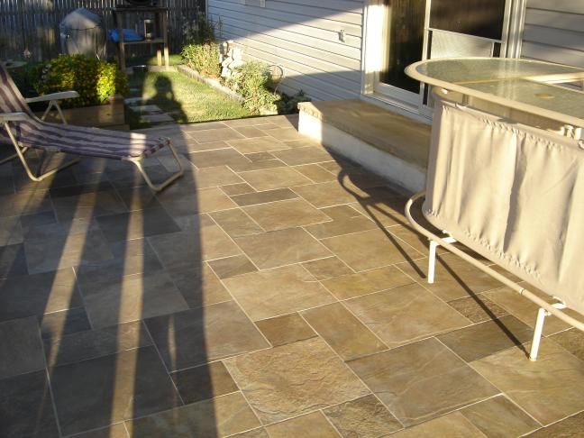 Awesome Best Tile For Outdoor Patio Part 2: Awesome Best Tile For Outdoor  Patio Nice Look