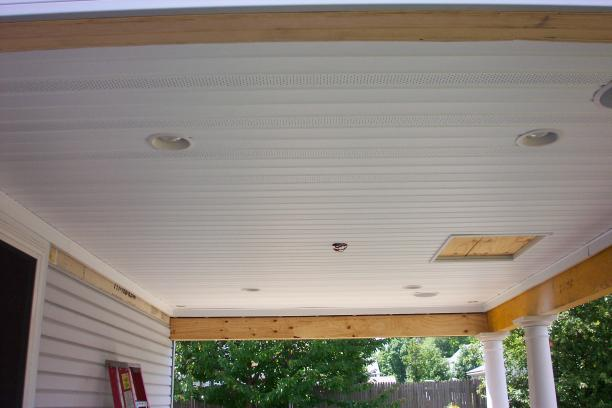 Porch Ceiling Beadboard Ceiling Vinyl Beadboard Deck Ceiling Four Season  Sunroom Patio Enclosure From A I Images Frompo ...